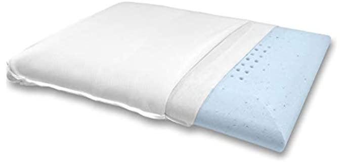 Bluewave Bedding Gel Infused  - Stomach Sleepers Pillow