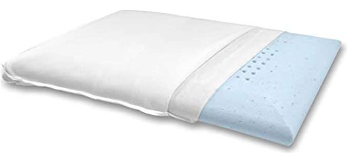 Bluewave Bedding Ultraslim  - Pillow for Stomach Sleepers