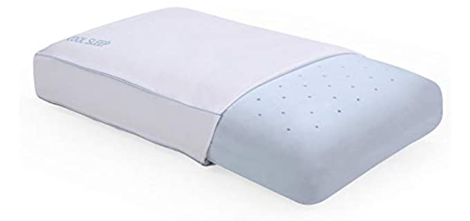 Classic Brands Ventilated Memory Foam - King Sized Pillows