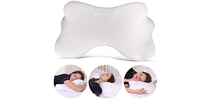 Coisum Cervical -  Pillow for Stomach Sleeper