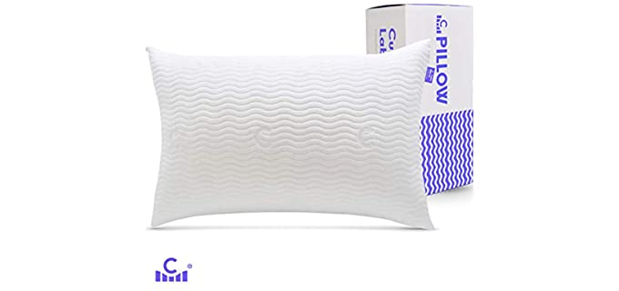 C CUSHION LAB Bamboo - Natural Hypoallergenic Pillow