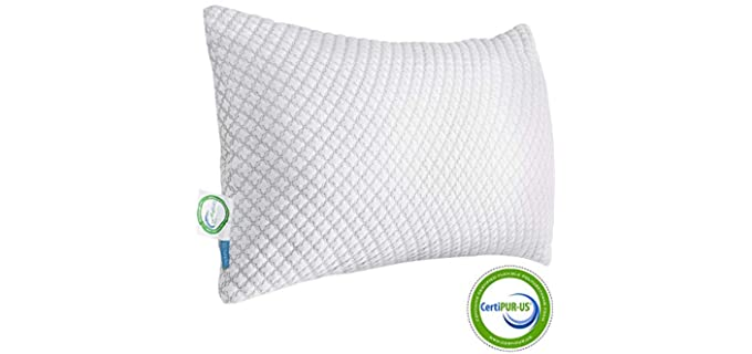 KUNPENG Shredded - Firm Hypoallergenic Pillow