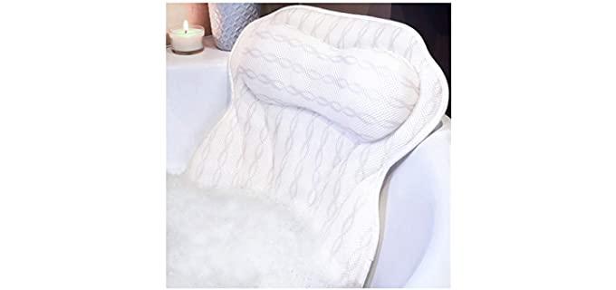 KANDOONA Non Slip - Best Bath Pillow