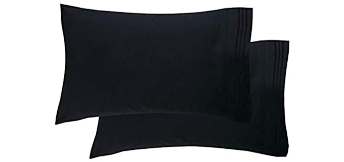 Elegant Comfort Wrinkle Resistant - Hypoallergenic Pillow Cover