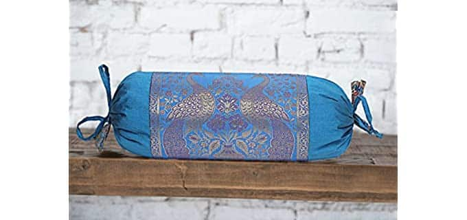 Real Online Seller Silk - Bolster Pillow Covers