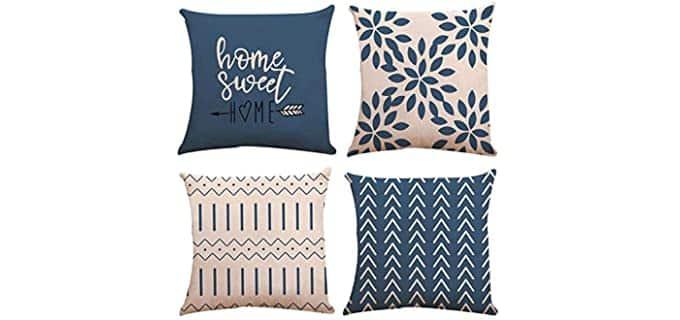 YC-KITCHEN Linen - Throw Pillow Cases