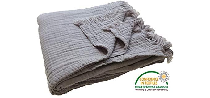 KyraHome Organic Muslin - Cotton Summer Blankets