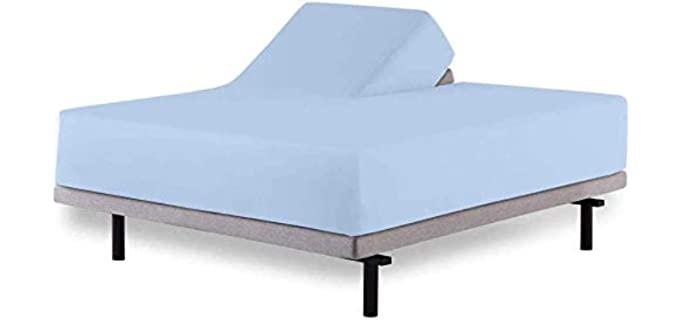 Aashi Rainwear 100% Cotton - Adjustable Bed Sheets