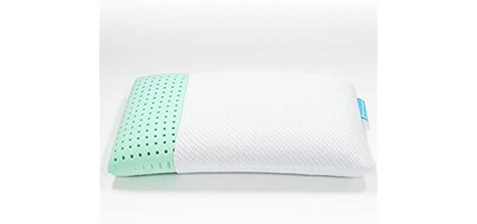 Blu Luxurious - Aloe Vera Pillow with memory foam