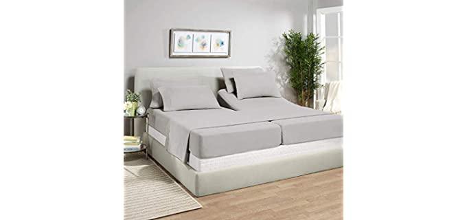 Shanaya's Luxury Bedding Split - Bed Sheets