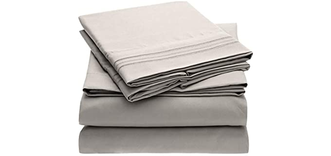Mellanni Polyester - Cooling Bed Sheets
