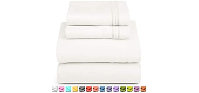 Nestl Microfiber - Soft Cooling Bed Sheets