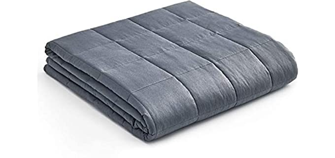 YnM Oeko-Tex Certified - Weighted Blanket