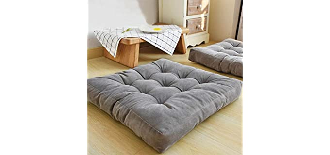 EGOBUY Tufted - Large Floor Pillow