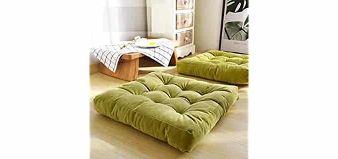 HIGOGOGO Soft - Pillows for Floor