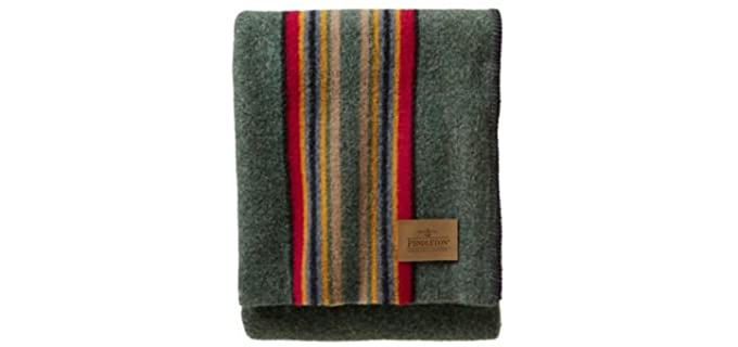 Pendleton Striped - Throw Wool Blanket