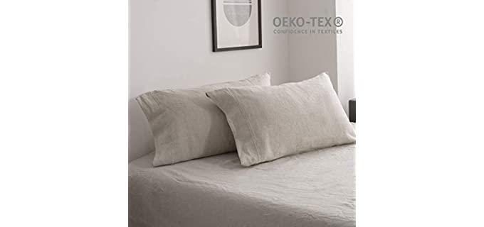 Simple&Opulence Flax - Elegant Linen Pillowcase