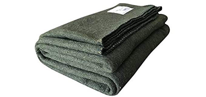 Woolly Mammoth Woolen Co. Merino - Self-Clean Wool Blanket
