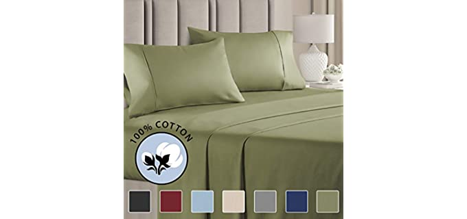 CGK Unlimited Cotton - Silky Cooling Sheets