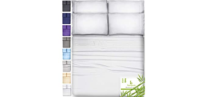 BAMPURE Organic Bamboo - Cooling Sheet Set