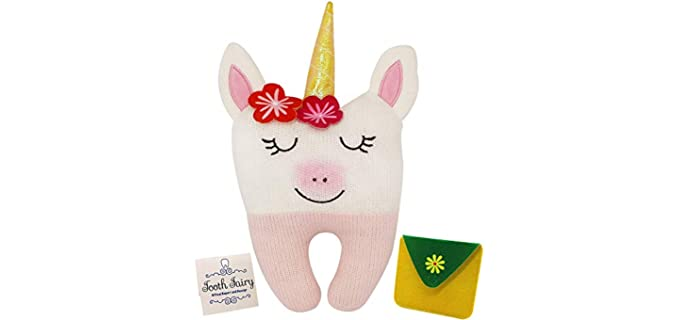 Bambini & Me Unicorn Themed - Tooth Fairy Pillow
