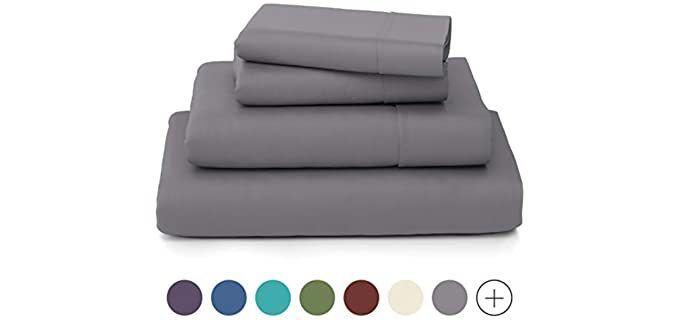 Cosy House Collection Luxury - Bamboo Bed Sheet Set