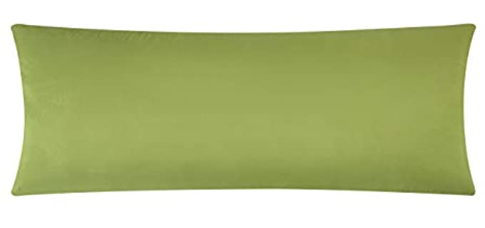 EVOLIVE Microfiber - Ultra Soft Body Pillow Cover