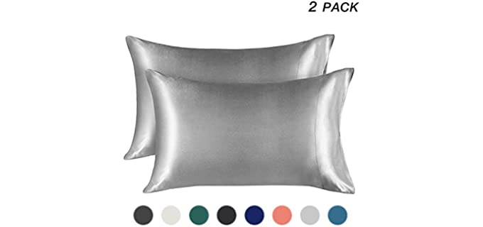 EXQ Home Cooling - Satin Pillowcase