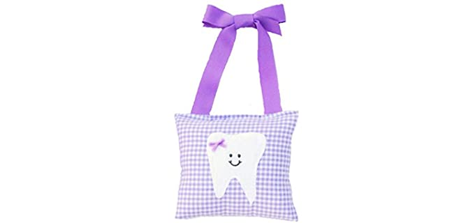 Tooth Fairy Pillow Shop Girl's Lilac - Tooth Fairy Pillow