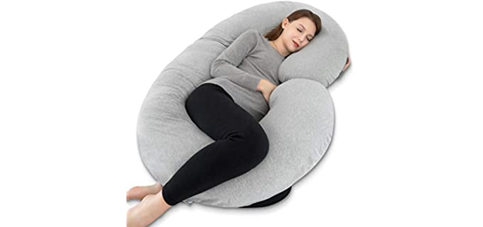 INSEN C Shaped - Pregnancy Body Pillow