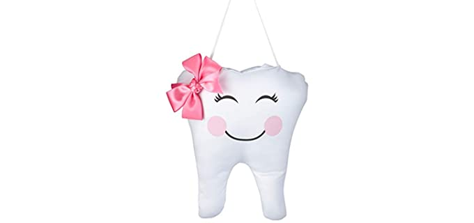 Lillian Rose Bow Design - Tooth Fairy Pillow