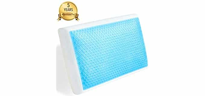 MODVEL Orthopedic Gel - Memory Foam Cooling Pillows