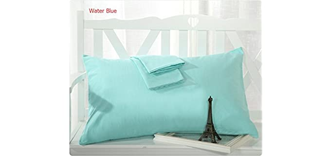 MoonRest Queen Size - Cotton French Seam Pillowcase