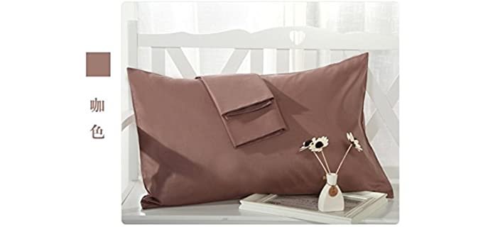 MoonRest 21 X 55 Inches - Cotton French Seam Pillowcase