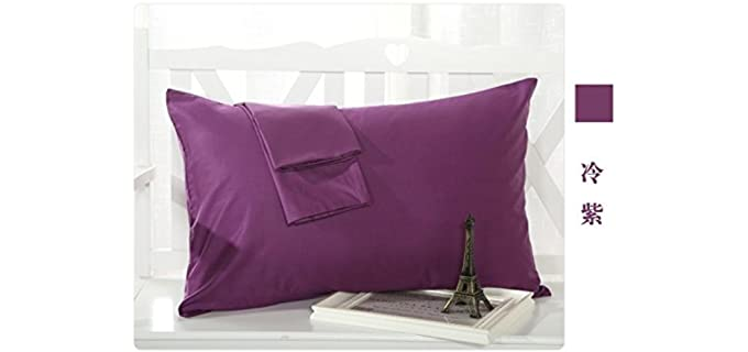 MoonRest King Size - Cotton French Seam Pillowcase
