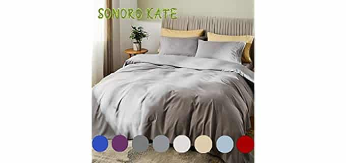 SONORO KATE Silky Soft - Bamboo Bed Sheets
