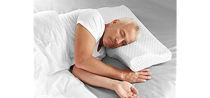 Sharper Image Advanced - Anti-Snore Pillow
