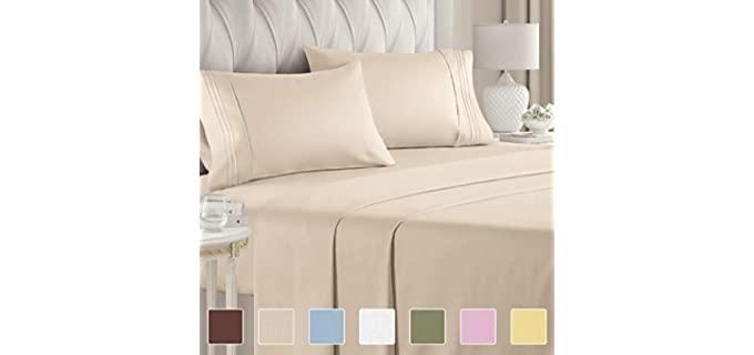CGK Unlimited Split King - Sheets for Adjustable Beds