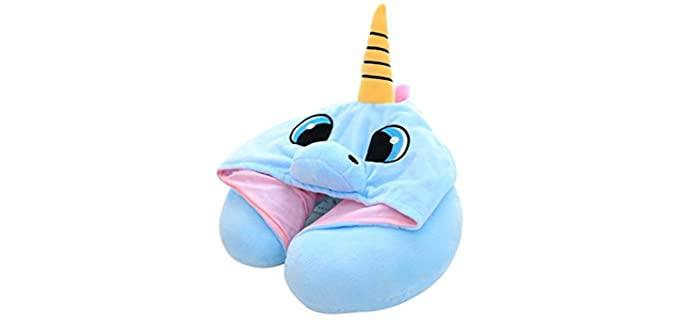 Nestable Unicorn - Neck Pillow Kids