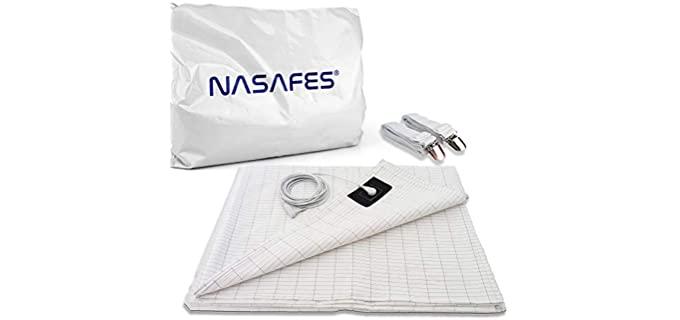 nasafes Grounding Kit - Earthing Half Sheet
