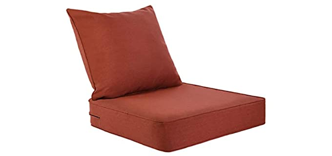 AAAAAcessories Olefin - Waterproof Rusty Chair Pillows