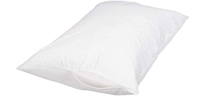 AmazonBasics Cotton - Protector Cover Pillow