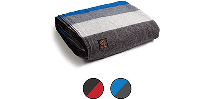 Arcturus Patterned - Heavy Wool Blankets