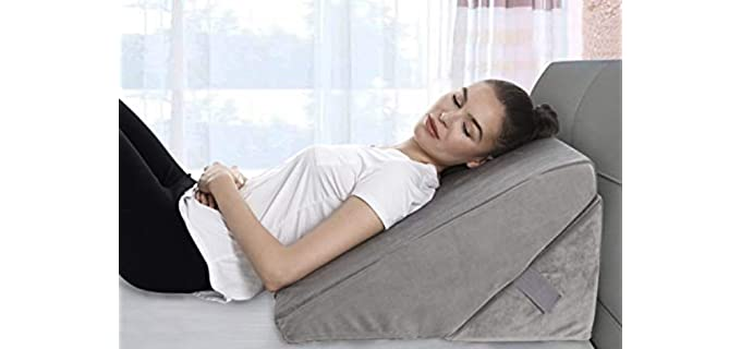 AllSett Health Adjustable - Bed Wedge Pillow