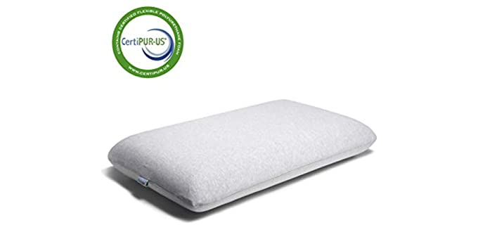 CooLux Memory Foam - Contoured Tempurpedic Pillows