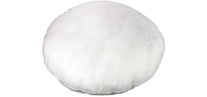 Foamily Insert - Round Stuffer Floor Pillow