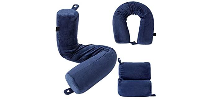 Idea2go Twist - Memory Foam Support Pillow
