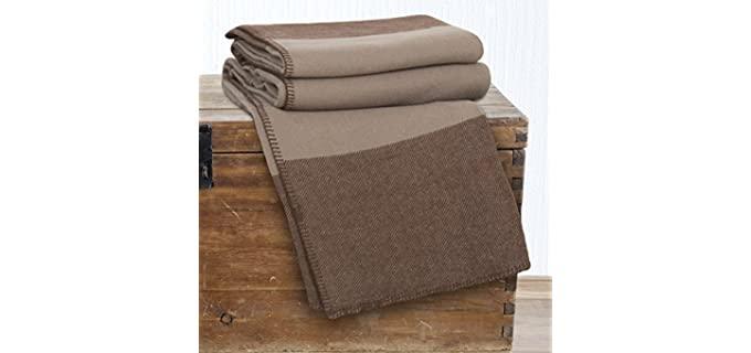 Lavish Home 100% Australian - Wool Blanket