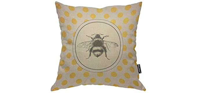 Moslion Vintage - Throw Pillow Cover
