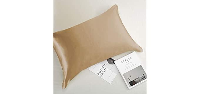 newmeil Silky Soft - Copper Pillowcase